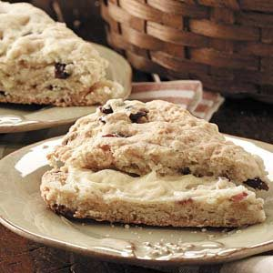 Buttery Cranberry Scones