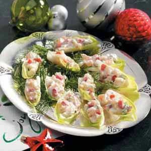 Shrimp Salad Lettuce Cups