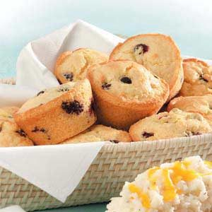 Corn Muffins with Blueberries