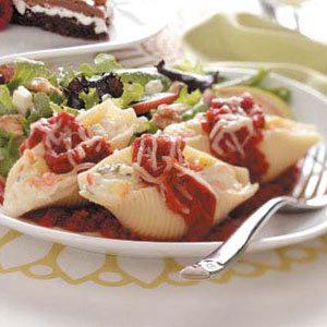 Vegetarian Pasta Shells