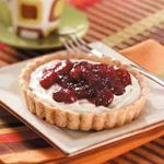 Cranberry Cheesecake Tartlets