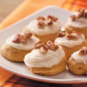 Spice Pumpkin Cookies