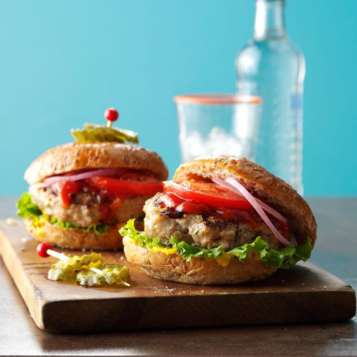 Inspired by: Cheesecake Factory Grilled Turkey Burger