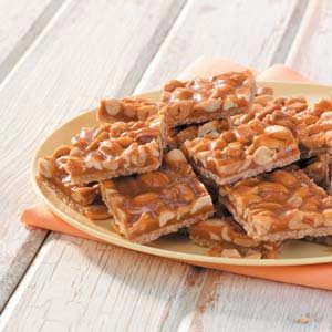 Butterscotch Peanut Bars