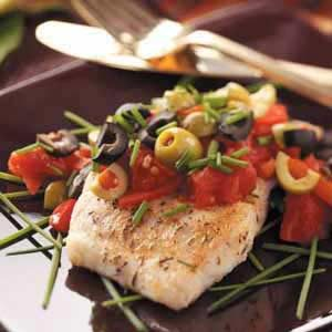 Mediterranean-Style Red Snapper