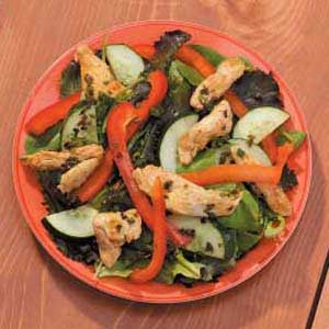 Spiced-Up Chicken Salad