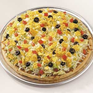 Mexican Taco Pizza