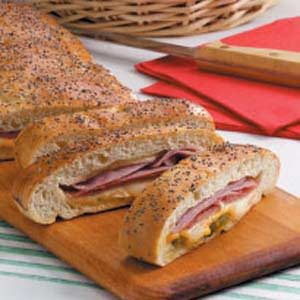 Meat 'n' Cheese Stromboli