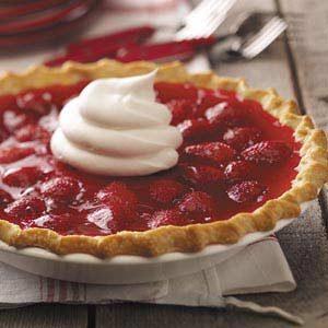 Strawberry Custard Pies