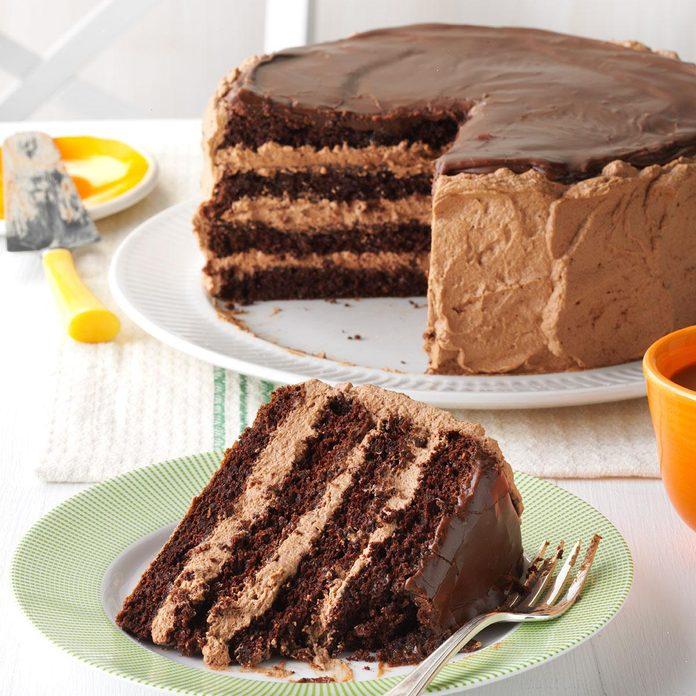 Chocolate Pecan Torte