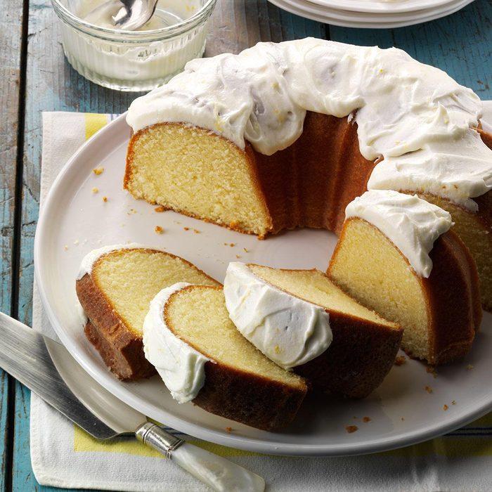 California: Lemon Pound Cake