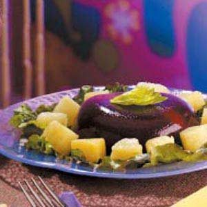 Cherry-Cheese Gelatin Salad