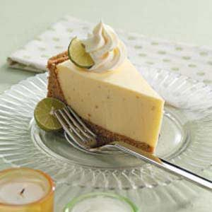 No-Bake Lime Cheesecake