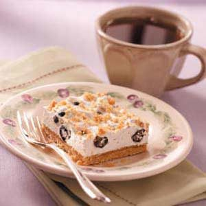 Contest-Winning Blueberry Cream Dessert
