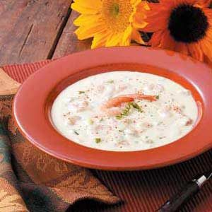 Shrimp Soup with Sherry
