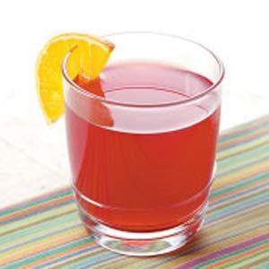 Cranberry Herbal Tea Cooler