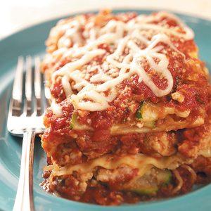 Turkey 'n' Squash Lasagna