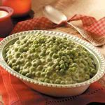 Peas in Cheese Sauce