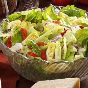 Simple Italian Tossed Salad