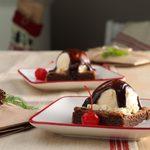 Brownies a la Mode