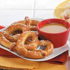 Pretzels with Mustard