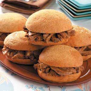 Potluck Barbecued Pork Sandwiches