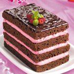 Raspberry-Cream Chocolate Torte