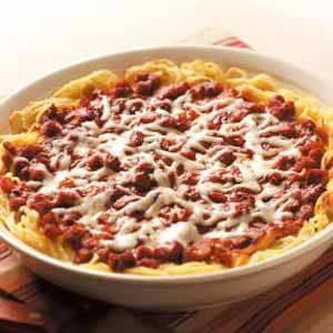 Sausage Spaghetti Pie