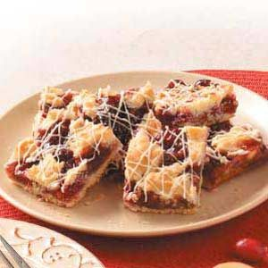 Cranberry Shortbread Bars