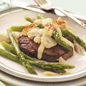Asparagus Steak Oscar