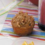Spiced Banana Nut Muffins