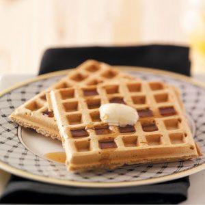 Nutmeg Waffles