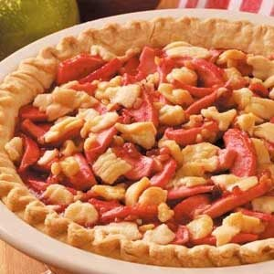 Candy Apple Walnut Pie