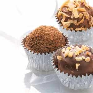 Cocoa Mint Truffles