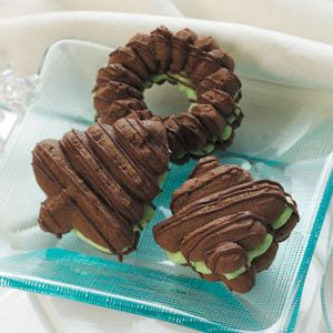 Filled Chocolate Spritz