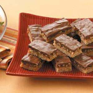 Caramel Butter-Pecan Bars for a Crowd