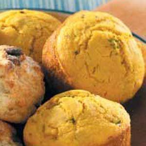Squash Corn Muffins