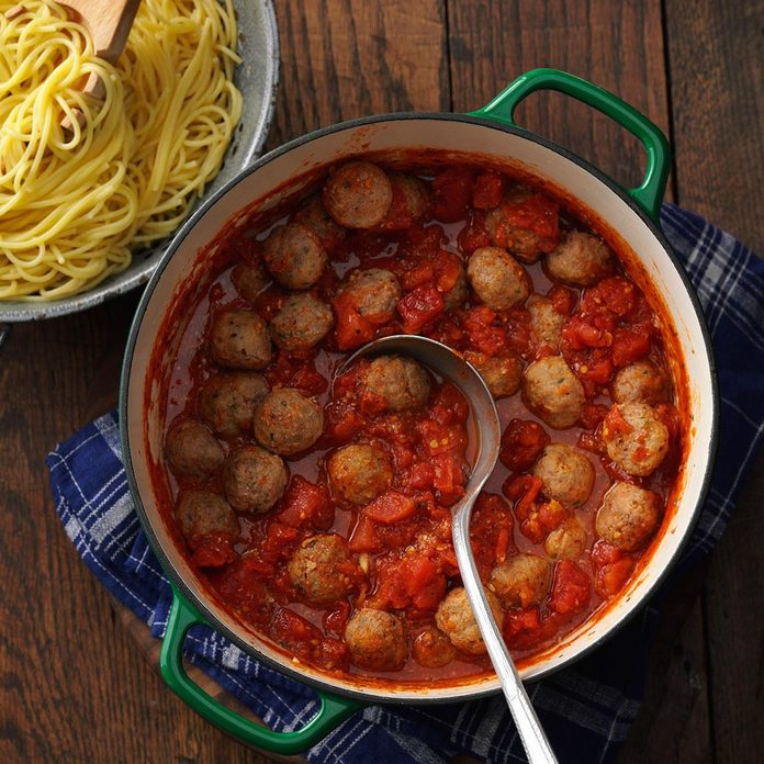 Wyoming: Spaghetti Meatball Supper