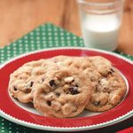 Cranberry-Cashew Drop Cookies