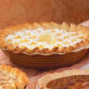 Lemon Ice Cream Pie
