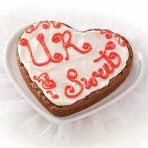 Heart Brownie Cookie