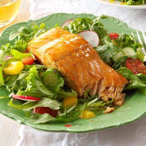 Grilled Teriyaki Salmon