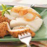 Cauliflower Puree with Onions