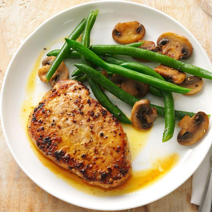 Dijon-Honey Pork Chops