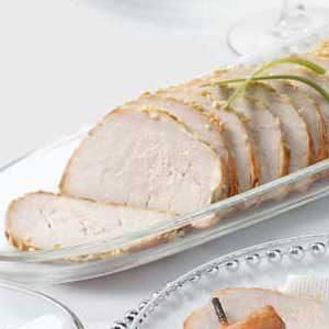 Baked Sesame Pork Tenderloin