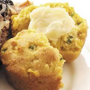 Favorite Jalapeno Corn Muffins