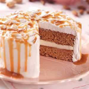 Caramel Nut Torte