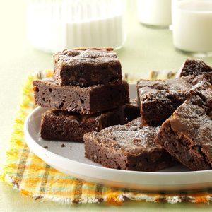 Double Chocolate Orange Brownies