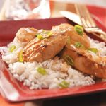 Chicken with Peanut Sauce