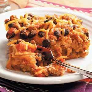 Turkey Enchilada Casserole